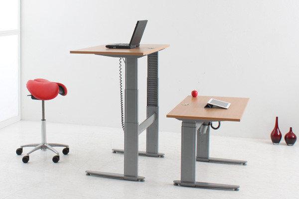 Пример подъемного стола для работы стоя