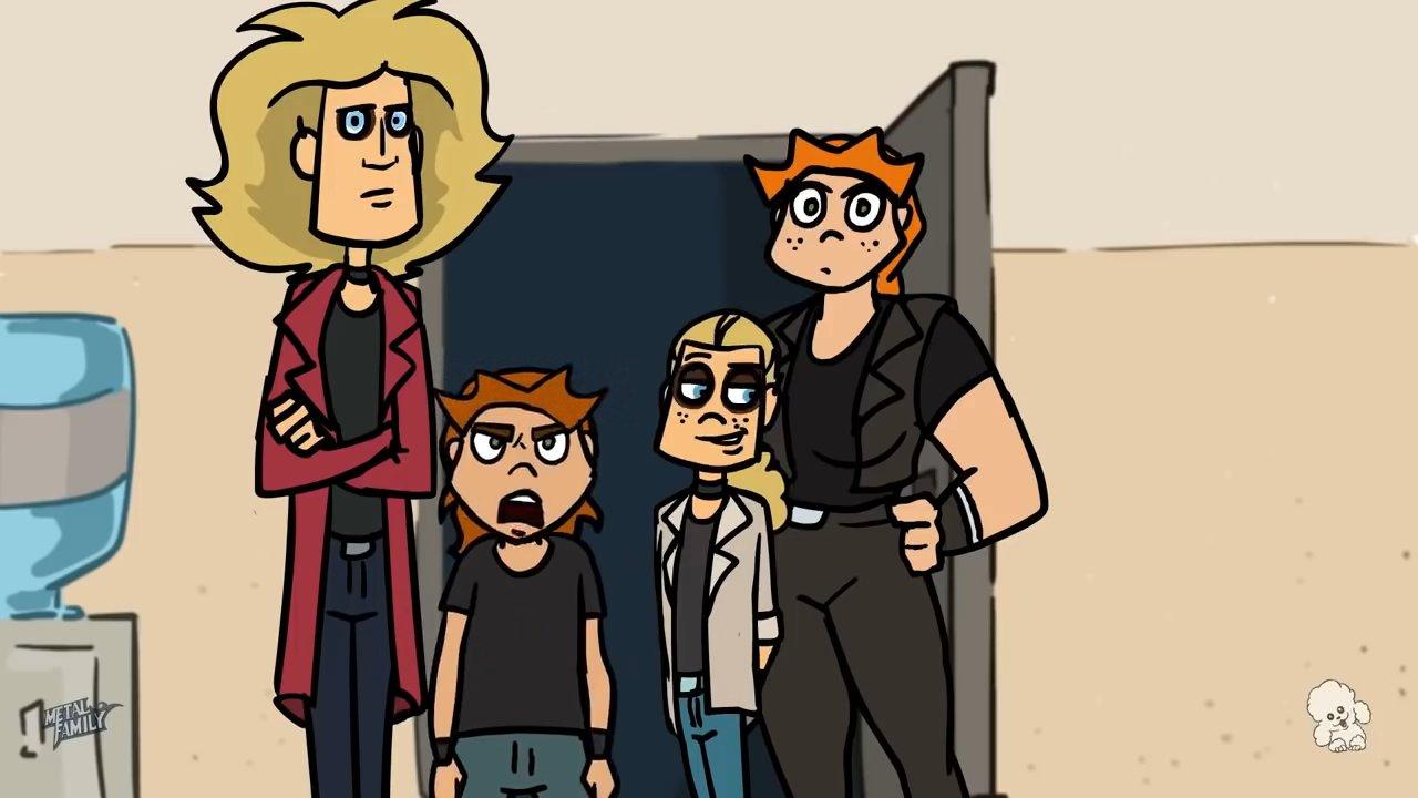 сериал Metal Family 🤘